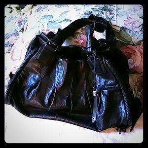 Authentic Cole Haan Phoebe Black Satchel Handbag